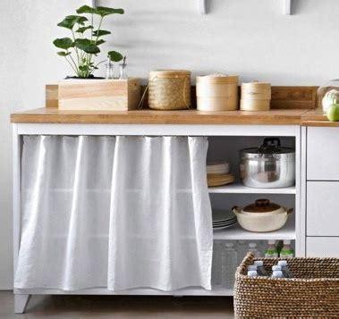 meuble à rideau cuisine m cuisine meubles éléments indépendants en bois