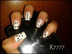 PLAYING CARDS!!! - Nail Art Gallery