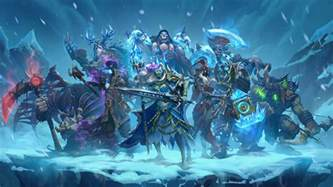 knights of the frozen throne wallpapers hearthstone top decks