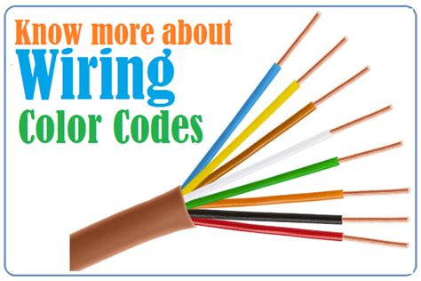 Wiring Color Codes Usa Europe Canada When