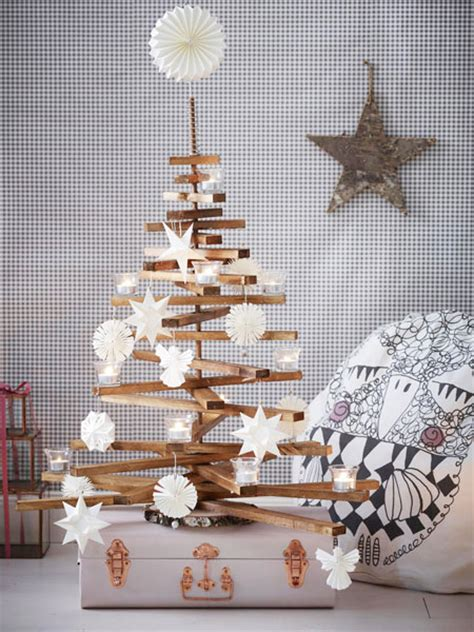diy idee weihnachtsbaum selbermachen