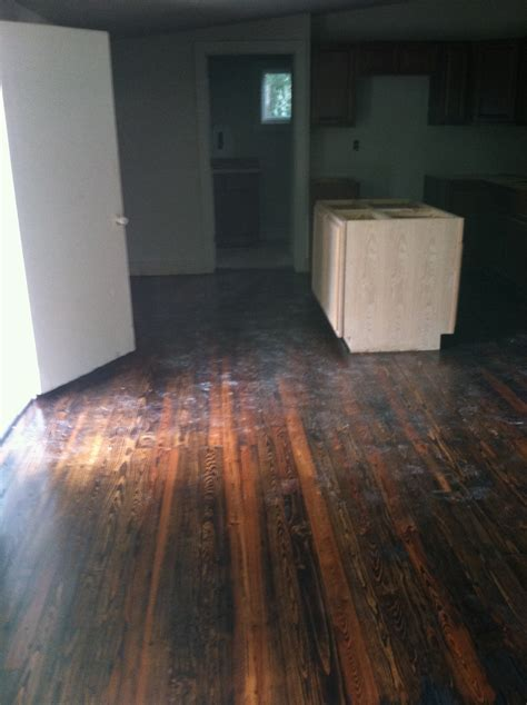 Sanding and Refinishing Old Pine Floors
