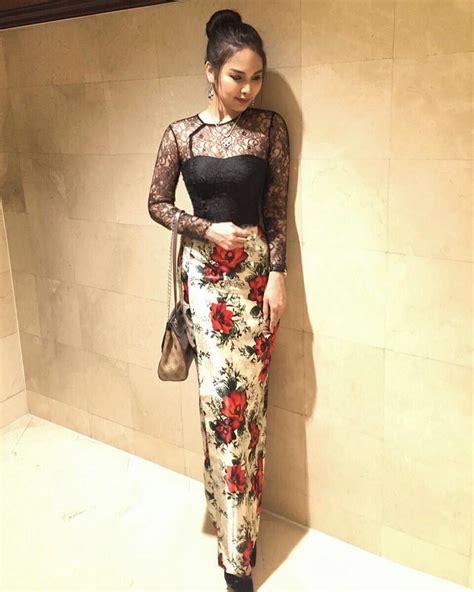 myanmar dress myanmar dress strapless