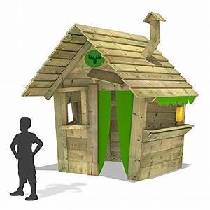Sandkasten Kunststoff Xxl : fatmoose spielhaus hippohouse heavy xxl kinderspielhaus garten spielger t holz mit holzdach ~ Orissabook.com Haus und Dekorationen