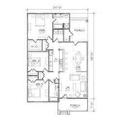 bungalow blueprints carolinian iii bungalow floor plan tightlines designs