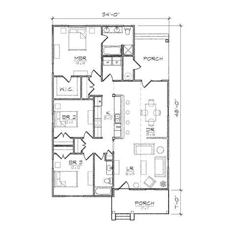 small bungalow floor plans carolinian iii bungalow floor plan tightlines designs