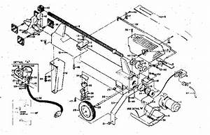 Craftsman Craftsman Electric Log Splitter Parts