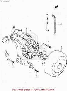 Suzuki Rgv250 1992  N   E02 E04 E21 E22 E24 E34  Magneto