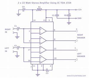 Draw Your Wiring   7295 Single Ic Circuit Diagram