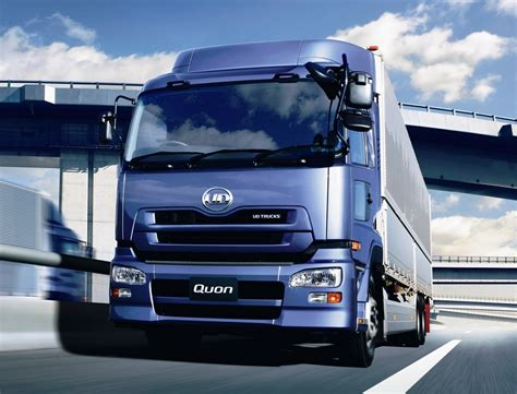 scania truck ud trucks quon behind the wheel