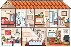 Piece De La Maison En Anglais : exceptionnel apprendre a dessiner des maisons 2 dessin pieces maison evtod ~ Preciouscoupons.com Idées de Décoration
