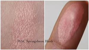 mac springsheen swatch