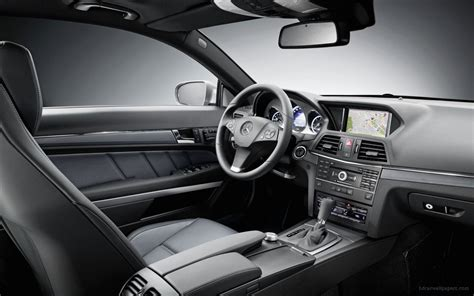 mercedes benz  class coupe interior wallpaper hd