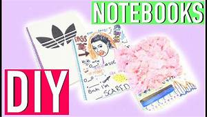 DIY NoteBook - Adidas, Kim Kardashian, & More! // Back To ...