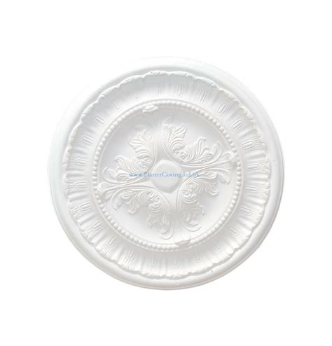 Small Plaster Ceiling Rose by Small Acanthus And Fern Plaster Ceiling Rose 410mm