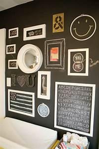 Zimmertür Mit Rahmen : 1001 ideen f r tafelfarbe interior und schritt f r schritt anleitung ~ Sanjose-hotels-ca.com Haus und Dekorationen