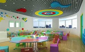 Kindergarten interior design Download 3D House