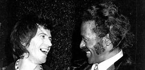 "When Keith Richards Got A ""Black Eye"" From Chuck Berry ..."