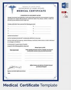 8 best images of doctor certificate templates medical 8 best images of doctor certificate for Fake medical certificate