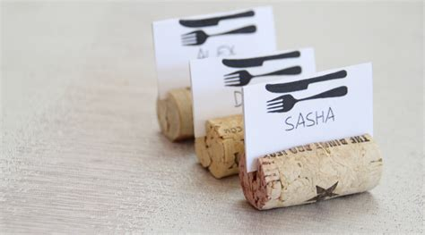wine cork place card holder wedding place card holders bling wedding decor 11 diy wine cork place card holders guide patterns