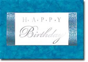 blue marble happy birthday card