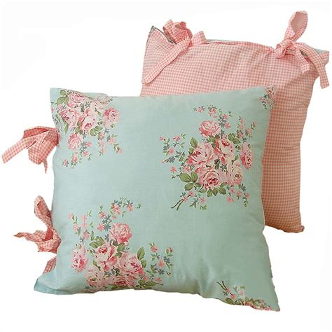 Shabby Chic Pillow Covers Home Furniture Design