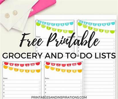 Grocery Printable Shopping Chart Organizing Things Printablesandinspirations