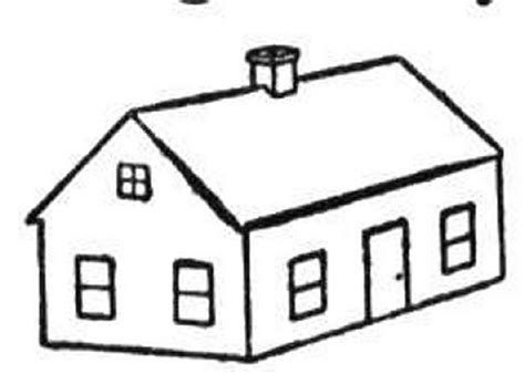 haunted house coloring page clipart panda  clipart images
