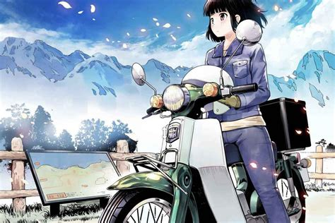 Super Cub anime adaptation has been announced - Motorcycle ...