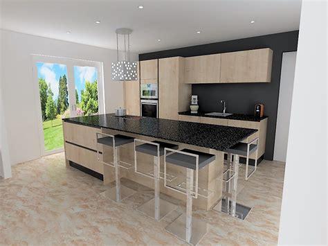 plan de travail cuisine bois cuisine moderne plan de travail bois maison moderne