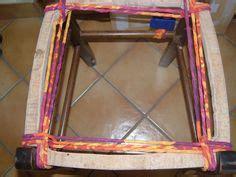 comment rempailler une chaise technique du rempaillage avec des bandes de tissu