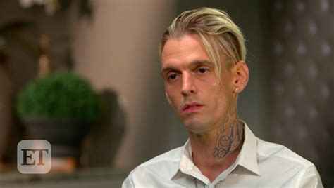 exclusive aaron carter tearfully opens