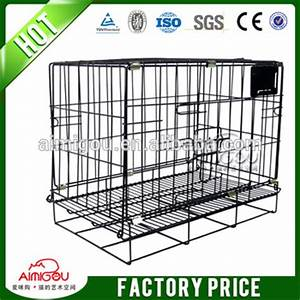 Wholesale stainless steel dog kennel large dog cage for for Large dog cages for sale cheap