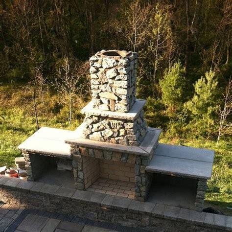 Outdoor Fireplace Kits  42in Preengineered Masonry