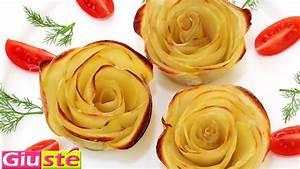 Comment Faire Secher Une Rose : comment faire des roses en pommes de terre youtube ~ Melissatoandfro.com Idées de Décoration