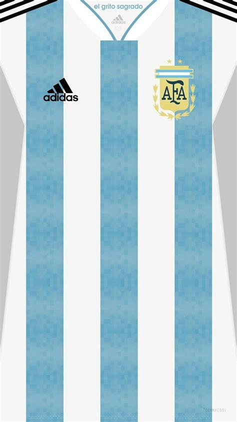 argentina   world cup kit home futbol argentina