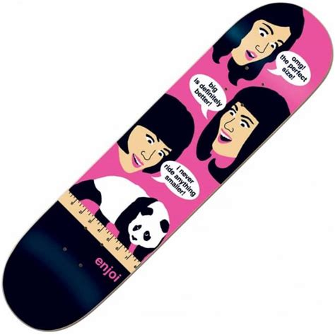 enjoi skateboards enjoi 8 inches skateboard deck 8 0