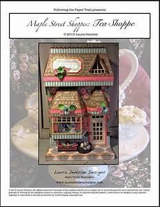 Maple Street Tea Shoppes – Tea Shoppe   Laura Denison Designs