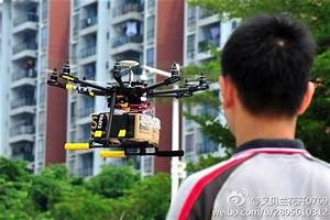 China's delivery companies testing parcel delivery with drones