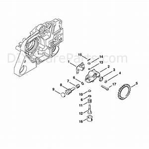 stihl ms 381 chainsaw ms381 n parts diagram oil pump With stihl fuel pump