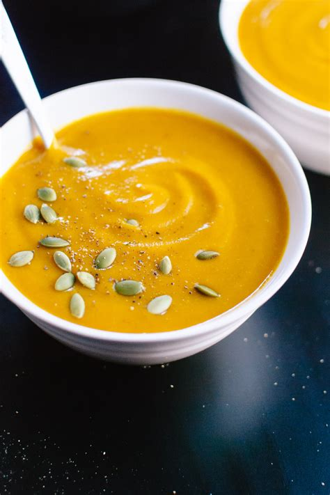 roasted pumpkin soup recipe cookie  kate