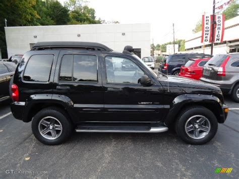 jeep renegade black black clearcoat 2003 jeep liberty renegade 4x4 exterior
