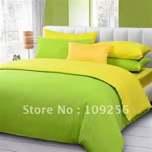 green and yellow bedding set memes