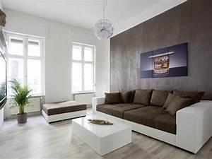 Einrichten In Weiß : wohnzimmer einrichten braun weiss ~ Lizthompson.info Haus und Dekorationen