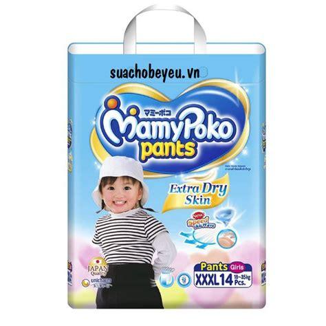Tã Quần Mamypoko Size Xxxl 14 Miếng Bé Gái Unicharm