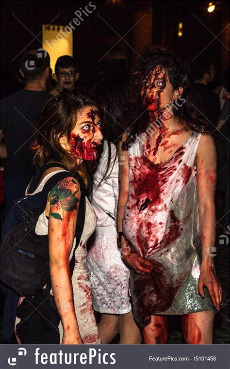 zombie pregnant woman featurepics bologna