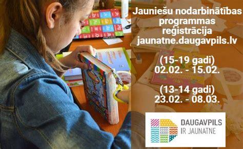 Reģistrācija jauniešiem uz vasaras darbu sāksies jau februārī