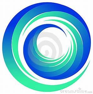 Blue Swirl Swirl Logo Stock Photography Image 19323992