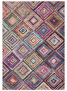 tapis colore carre boutik multicouleur tapis design With tapis carré design