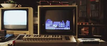 Computer Tech Christmas Retro Giphy Sing Gifs